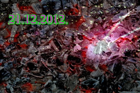 21 12 2012, the end of the world Stock Photo - 16608838