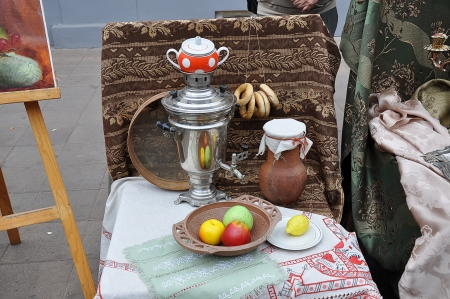 Tea from Samovar photo
