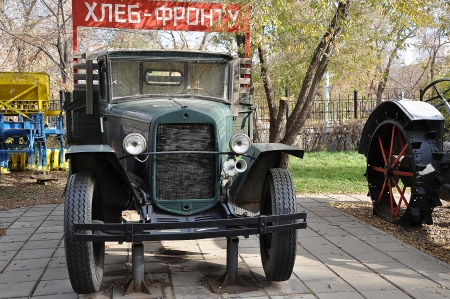 Old truck GAZ, produced from 1932 until 1949 year