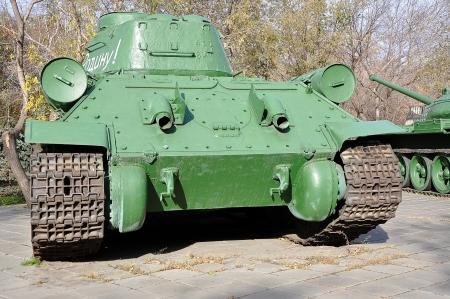 Soviet tank T34 Stock Photo - 17025419