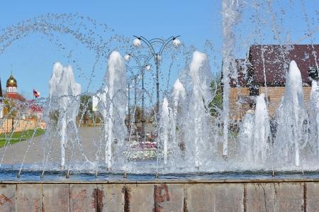 Fountain City Stock Photo - 17497876