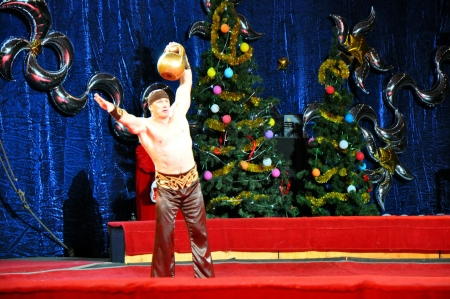 Artists of Yuri Nikulin Moscow Circus Stock Photo - 17262666