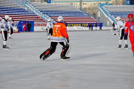 premierleague: Russian Premier League match ball hockey: Lokomotiv Orenburg universale Saratov