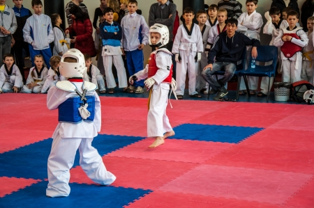 The Korean martial art of taekwondo Editorial