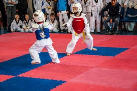 The Korean martial art of taekwondo Editorial