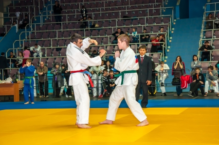 Competitions on Judo among Juniors