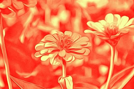 airbrushing: Flores decorativas en el estilo de aerograf�a -