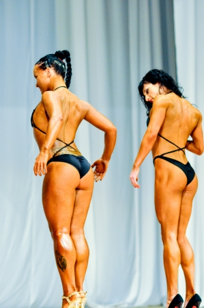 Bodybuilding competitions among women