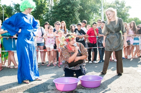 ivan: Competitions on water transport on the holiday of Ivan Kupala