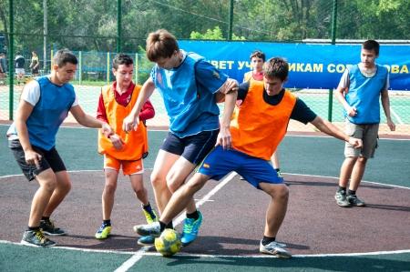 Tournament on mini-football among school teams