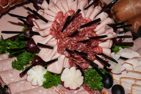 Meat assortment photo