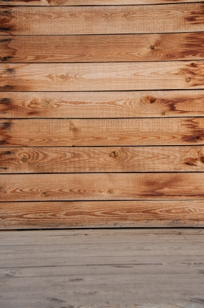 The texture of the wooden Interior photo