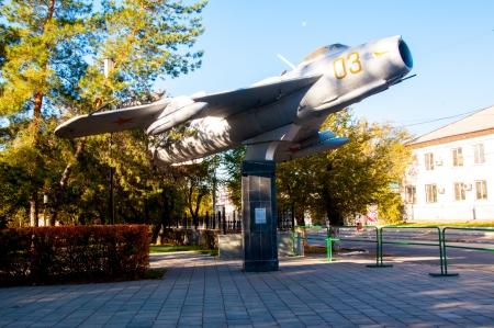 yuri: On MiG 17 learned to fly the world first astronaut Yuri Gagarin