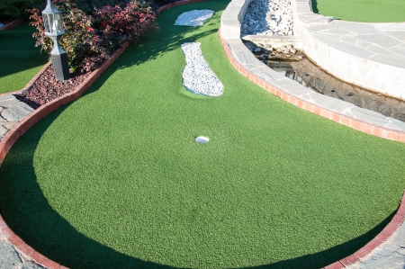 Mini Golf for small country house