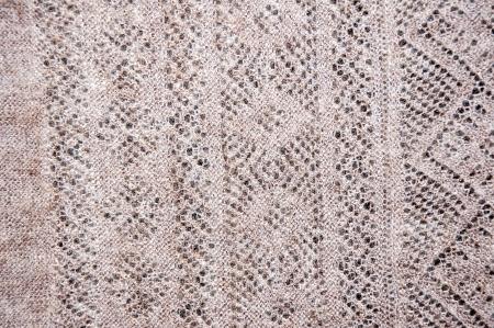 downy: Openwork of Orenburg downy shawl, city of Orenburg, Southern Ural, Russia