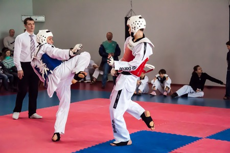 without clothes: Taekwondo is a Korean martial art