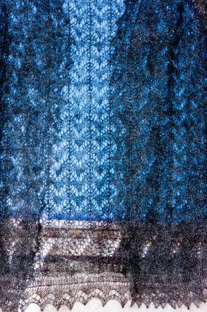 Orenburg downy shawl is knitted goat fluff and threads basics.  Orenburg shawl along with Tula Samovar, matreshka, khokhloma, Gzhel, painting: palekh, Vologda lace, dymkovskoj toy, Rostov enamel, Ural Malachite is one of the symbols of Russia