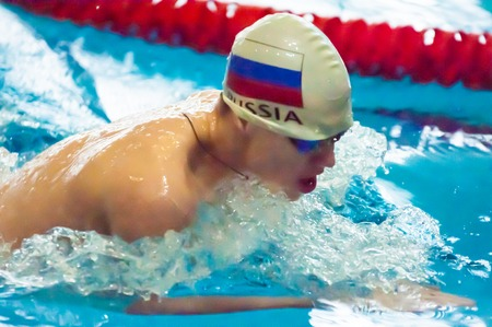 Olympic Swimming Pool: ORENBURG, ORENBURG Region, RUSSIA, 21 November, 2014  Year