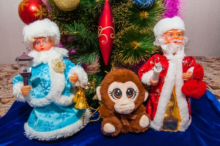 preparations: Preparations for Christmas and the new year of the monkey