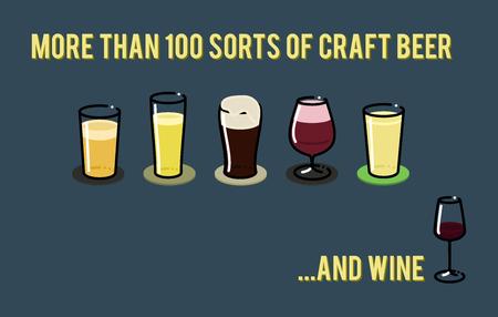 Ensemble d'icônes de verre à bière. Bière allemande, belge, irlandaise, américaine Les icônes peuvent être placées dans le menu. Illustration peut être utilisé comme une affiche
