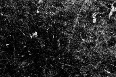 on a black background white scratches.