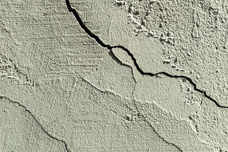 stone wall with cracks and texture paint