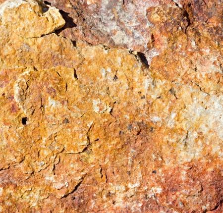 Macro red and orange rock texture Stock Photo - 22016127