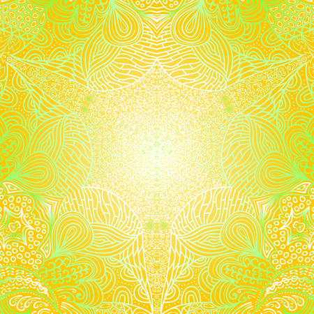 quadrate: Quadrate orange and green pattern for background