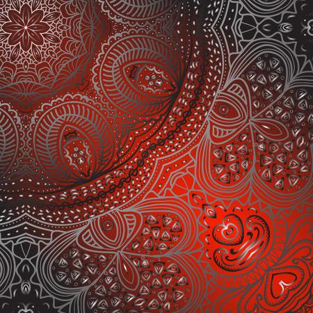 quadrate: Quadrate red pattern for design