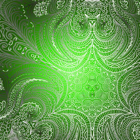 quadrate: Quadrate green pattern for design