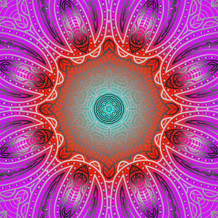 quadrate: Quadrate colorful pattern for design Illustration