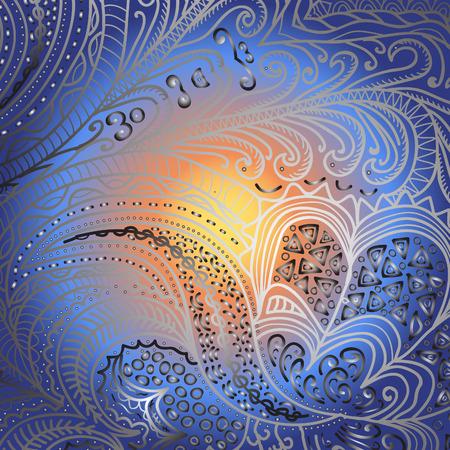 quadrate: Quadrate varicolored pattern for design Illustration