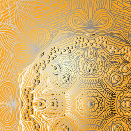 orange pattern: Quadrate orange pattern for background Illustration