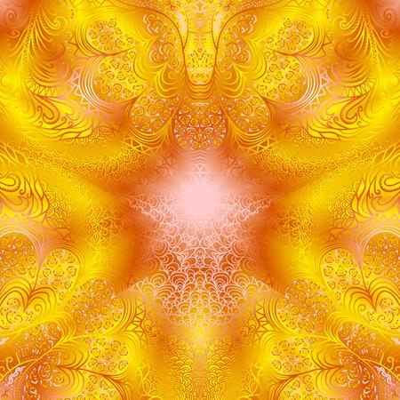 quadrate: Quadrate bright orange pattern for design