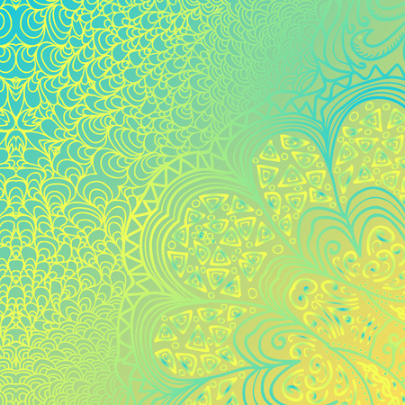 quadrate: Quadrate yellow blue pattern for design