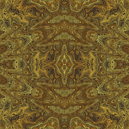 goldish: Repeating abstract kaleidoscopic goldish background