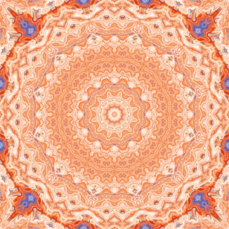 rosy: Kaleidoscopic abstract artistic rosy background for design