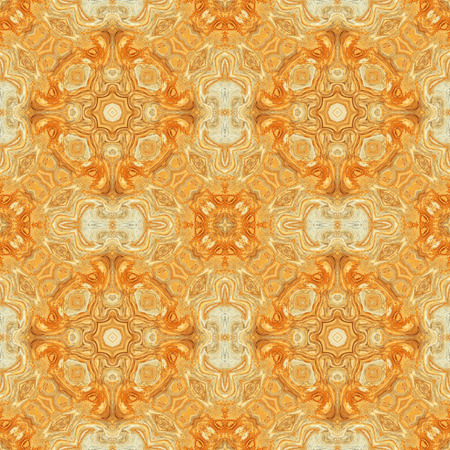 for the design: Abstract seamless orange pattern for design and background Stock Photo