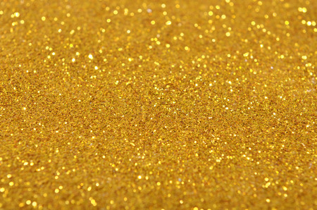 gold sequins background Stock Photo