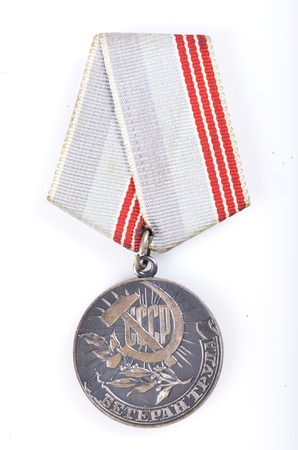 soviet: Soviet medal of labor