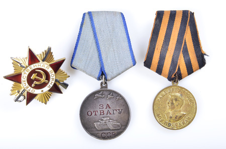 war decoration: Soviet military medals