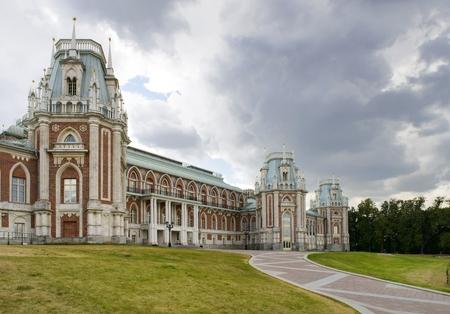 tsaritsino: ancient palace in Tsaritsino park