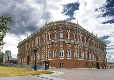 tsaritsino: Catherine the Great House in Tsaritsino park in Moscow