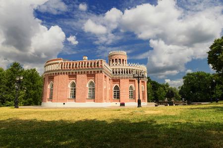 pilasters: historic palace in Tsaritsino park