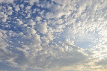 cirrus: white cirrus clouds in the sky