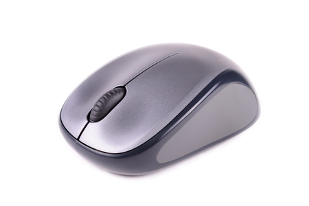 Mouse wireless on white background