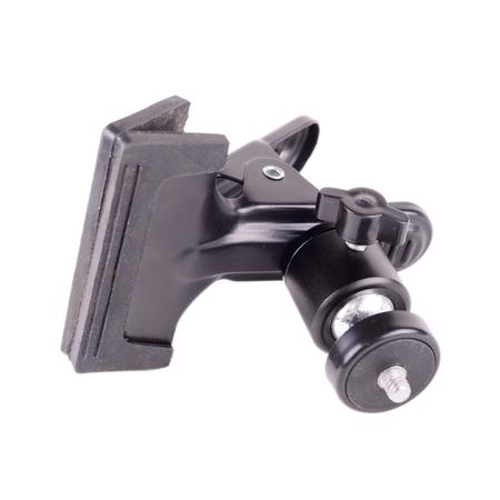 black big clip close-up. Isolated on white background. Stock Photo