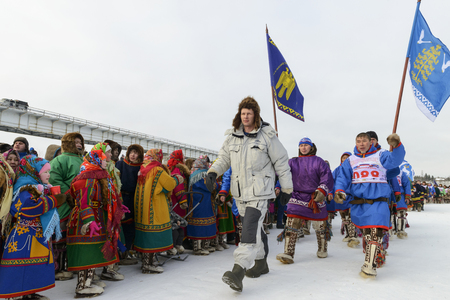 Nenets national holiday Day of the reindeer herders in Yamal