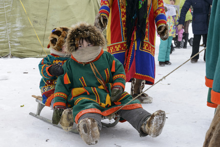 Nenets national holiday Day of the reindeer herders on Yamal