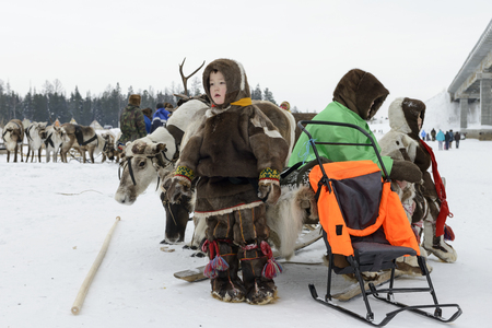 national holiday: Nenets national holiday Day of the reindeer herders on Yamal